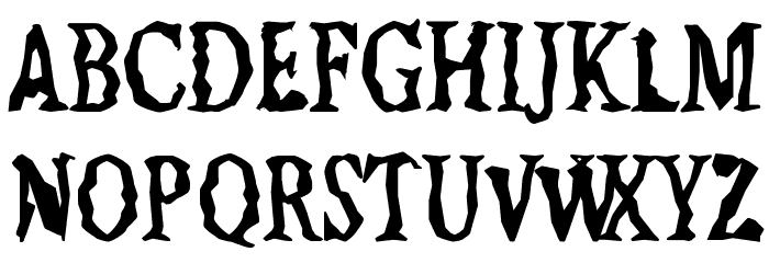 Jilted Medium Шрифта ВЕРХНИЙ