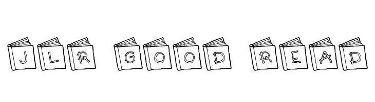 JLR Good Read  नि: शुल्क फ़ॉन्ट्स डाउनलोड