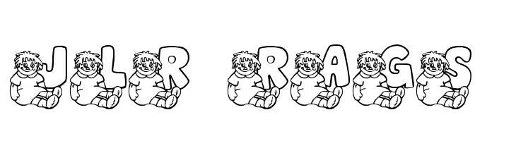 JLR Rags 1  Скачать бесплатные шрифты