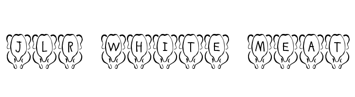 JLR White Meat  Free Fonts Download