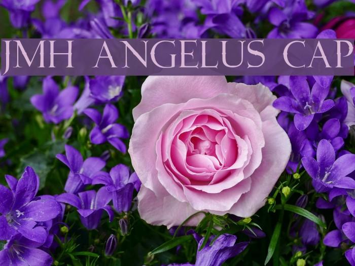 JMH Angelus Cap フォント examples