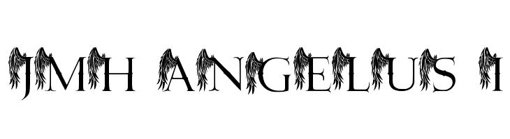 JMH Angelus I  font caratteri gratis