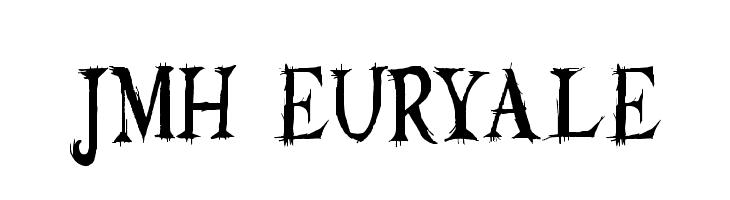JMH Euryale  les polices de caractères gratuit télécharger