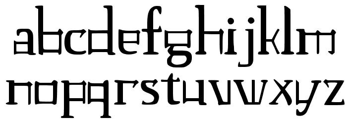 JMH Laudanum CA Font LOWERCASE
