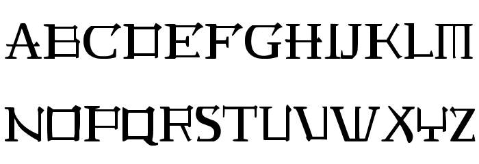 JMH Laudanum EG Font UPPERCASE