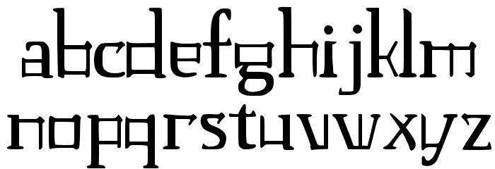 JMH Laudanum EG Font LOWERCASE