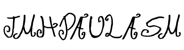 JMH Paula SM フォント