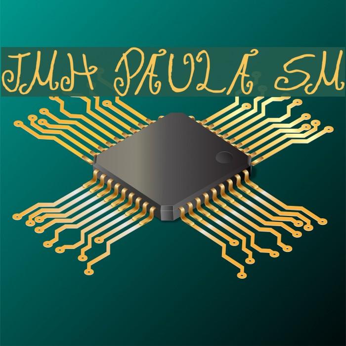 JMH Paula SM फ़ॉन्ट examples