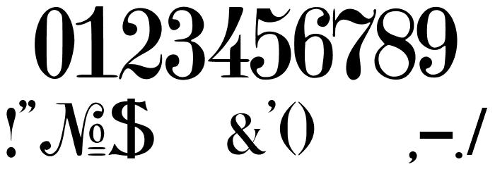 JMHArkham-Regular Font OTHER CHARS