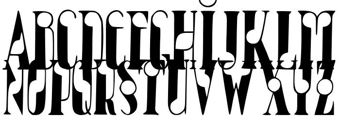 JMHBolitaCaps-Regular Font UPPERCASE