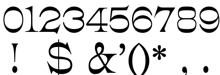 JMHCajita-Regular Font OTHER CHARS