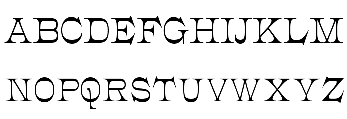 JMHCajita-Regular Font UPPERCASE