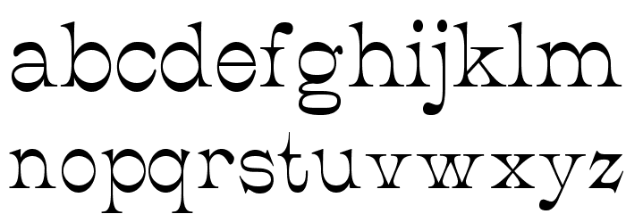 JMHCajita-Regular Font LOWERCASE