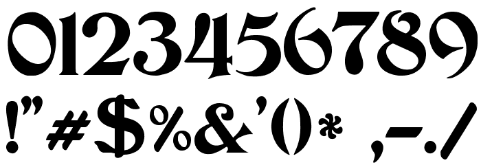 JMHCthulhumbus-Regular Font OTHER CHARS