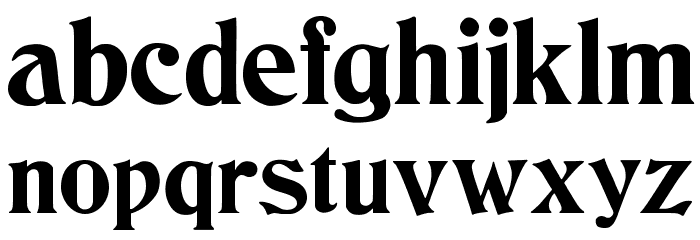 JMHCthulhumbus-Regular Font LOWERCASE