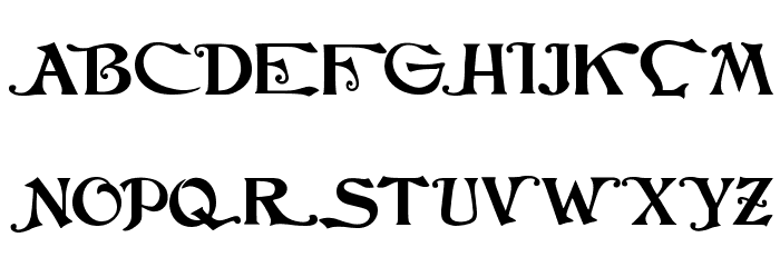 JMHCthulhumbusUGalt1-Regular फ़ॉन्ट अपरकेस