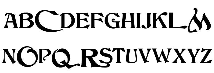 JMHCthulhumbusUGalt2-Regular Font UPPERCASE