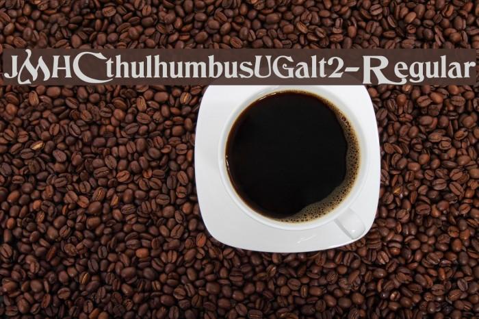 JMHCthulhumbusUGalt2-Regular Font examples