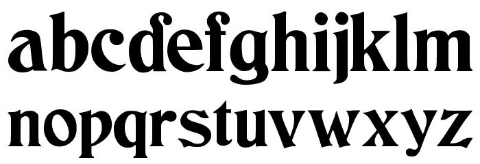 JMHCthulhumbusUGalt2-Regular Font LOWERCASE
