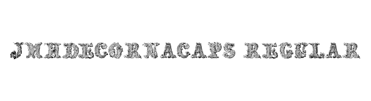 JMHDecornaCaps-Regular  Free Fonts Download