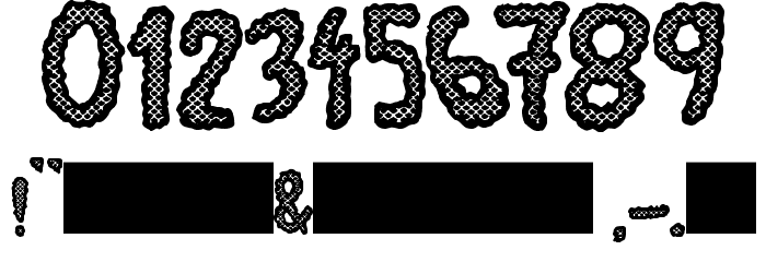 JMHEscamasBlack-Regular Font OTHER CHARS