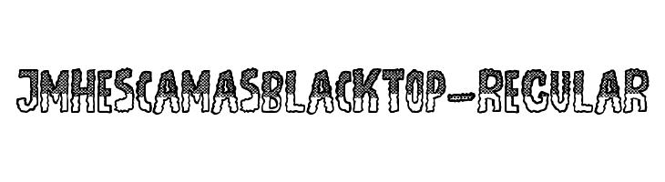 JMHEscamasBlackTop-Regular  font caratteri gratis