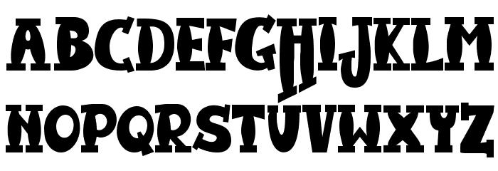 JMHHarryDicksonTwo-Regular 字体 大写