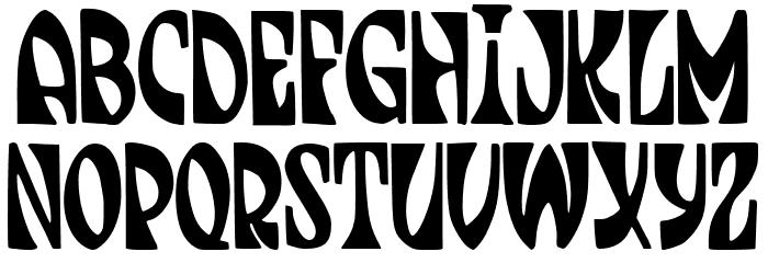 JMHJENPAU-Regular Font UPPERCASE