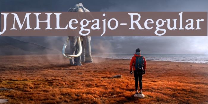 JMHLegajo-Regular Font examples