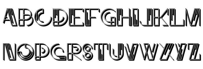 JMHLinartIICaps-Regular Font UPPERCASE