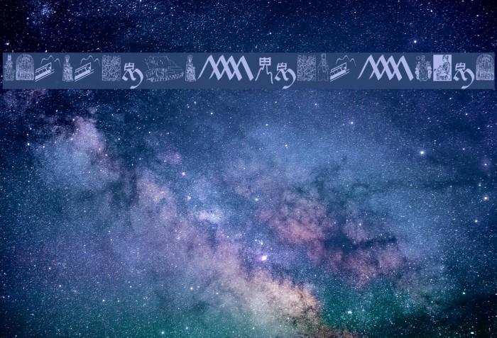 JMHMorenetaDingbats-Regular Font examples
