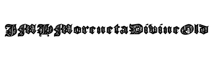 JMHMorenetaDivineOld  Free Fonts Download