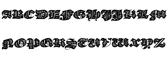 JMHMorenetaDivineOld Font UPPERCASE