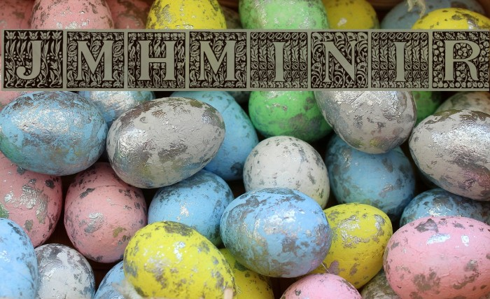 JMHMorenetaINI-Regular फ़ॉन्ट examples