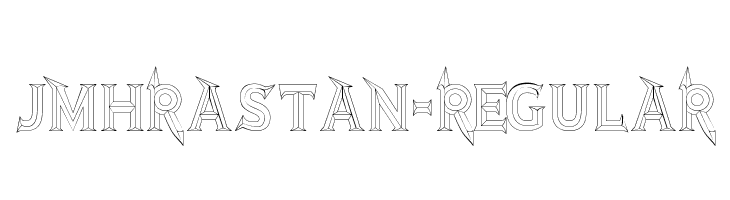 JMHRastan-Regular  Free Fonts Download