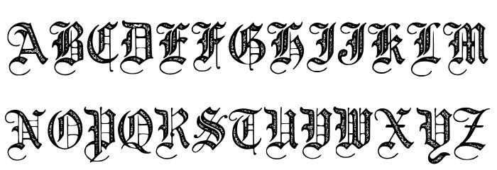 JMHSantaMariaRough-Regular Font UPPERCASE