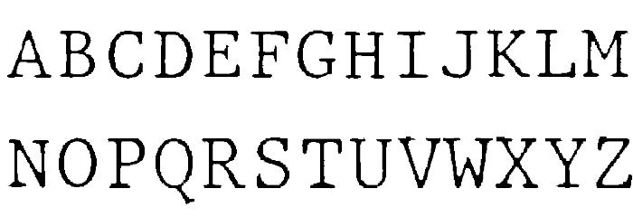 JMHTypewritermonoFine-Regular फ़ॉन्ट अपरकेस