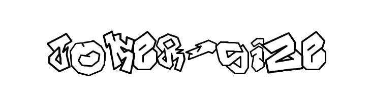 JOKER-SIZE  Free Fonts Download