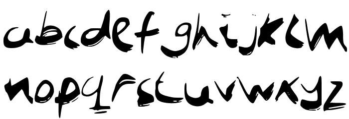 JobBoofKwast Font Litere mici