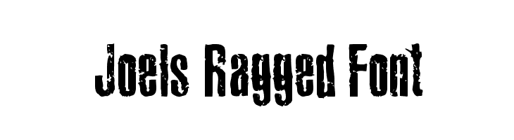 Joels Ragged Font  Free Fonts Download