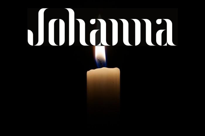 Johanna Font examples