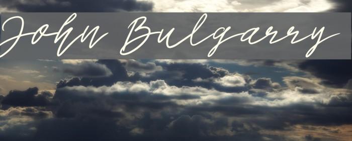 John Bulgarry Caratteri examples