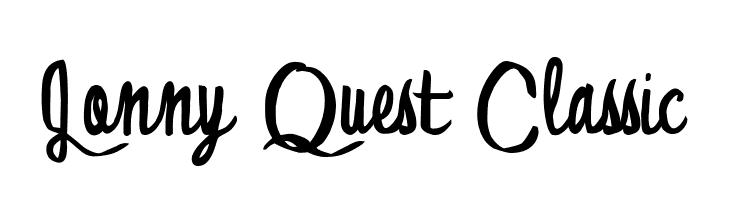 Jonny Quest Classic  Free Fonts Download
