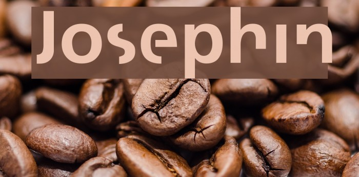 Josephin फ़ॉन्ट examples