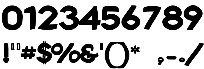 Joshs Font Font OTHER CHARS