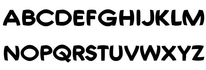 Joshs Font Font UPPERCASE