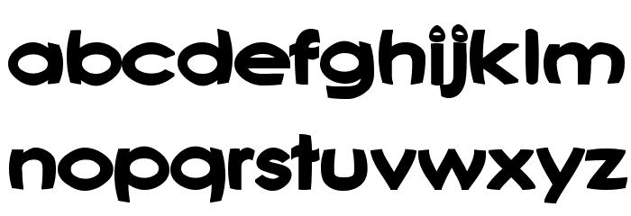 Joshs Font Font LOWERCASE
