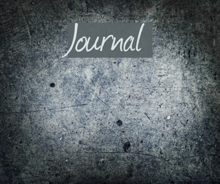 Journal Font examples