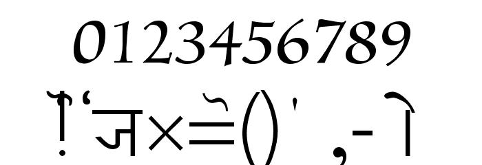 Joy Font OTHER CHARS