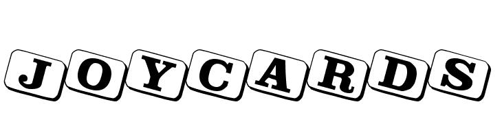 JoyCards  font caratteri gratis